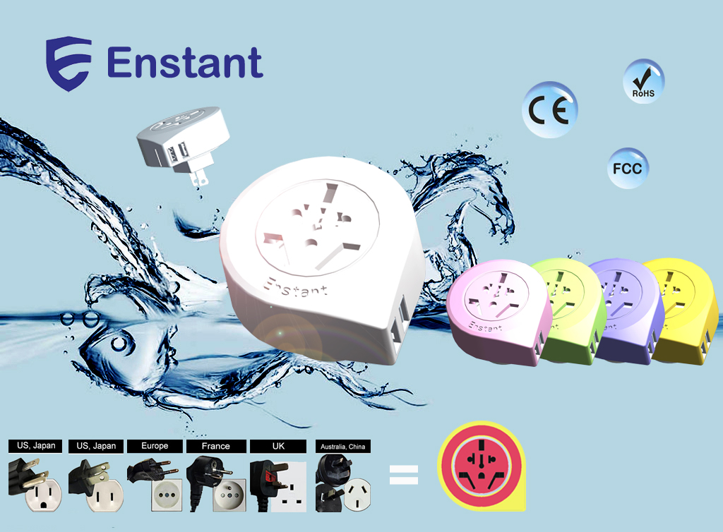 New Product compact design USB charger for traveling and business trip