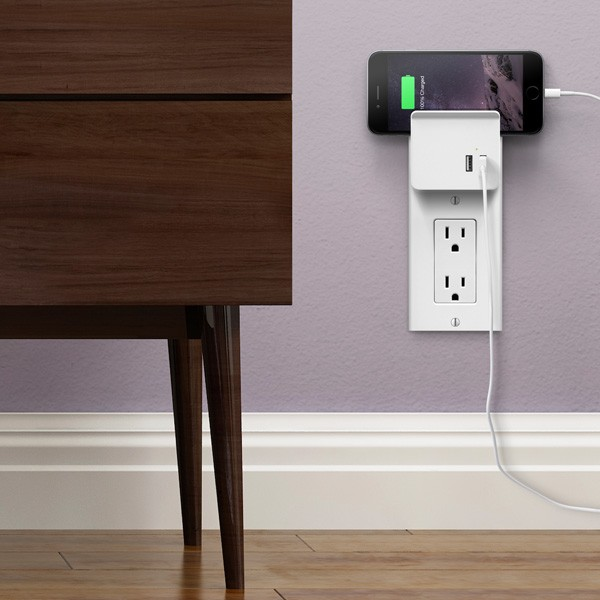 The new USB socket